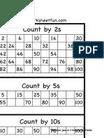 Grade 2 Skip Count