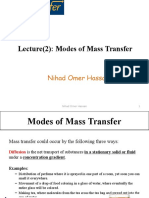 Lecture(2) Modes of Mass Transfer