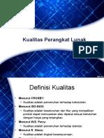 QA (Kualitas Perangkat Lunak)