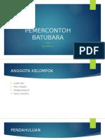 PEMERCONTOH BATUBARA