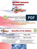U.S. Battery Manufacturing Company - World Famous Battery - German Gulf Enterprises Ltd
