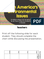 environmental issues of latin america