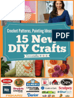 Crochet Patterns Painting Ideas and More 15 New DIY Crafts