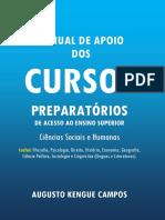 Augusto Kengue Campos - Manual de Apoio Dos Cursos Preparatórios de Ciências Sociais e Humanas