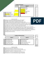 Comisiones y Rúbrica del Viaje a Hidalgo