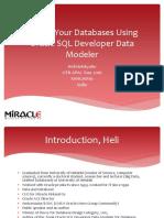 DesignYourDatabasesUsingOracleSQLDeveloperDataModeler
