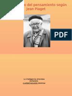 El Desarrollo Del Pensamiento Según Jean Piaget