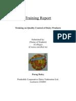 Parag Dairy Training