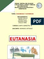 Eugenesia y Eutanasia