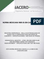 NMX-B-290-CANACERO-2013