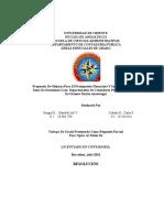 Propuesta de Mejoras Para El Presupuesto Financiero Y Su Influencia en La Toma de Decisiones Caso Departamento de Contaduría Pública Universidad de Oriente Núcleo Anzoátegui