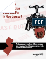 Has Water Privatization Gone Too Far in New Jersey?