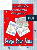 maths assignment - graph your own town