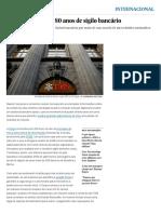 A Suíça dá adeus a 80 anos de sigilo bancário | Internacional | EL PAÍS Brasil