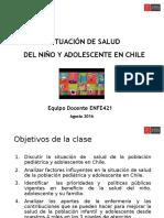 Situacion de Salud Infantil en Chile