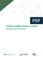 Preguntas frecuentes (Fondo Verde para el Clima)