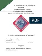 Reologia de Geles Obtenidos a Partir de Fuentes Biológicas Del Peru