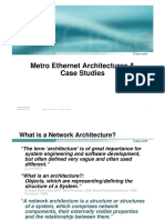Apricot 04 Metro Ethernet Architecture