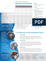 L.a. Turbine Turboexpander Config and Specs