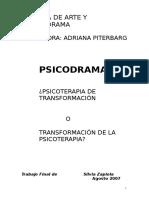 psicoterapia con psicodrama