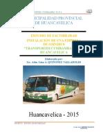 Proyecto Transportes-2013 Cusibamba