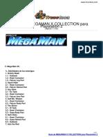 Guia Trucoteca Megaman x Collection Playstation 2
