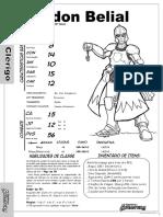 Fichas Se Itens Mágicos -Old Dragon Para Eventos (Nivel 10)