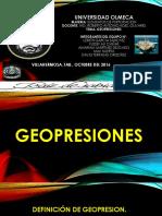 Geopresiones
