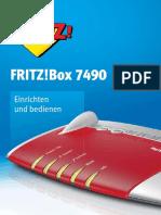 Handbuch Fritzbox 7490 Man De