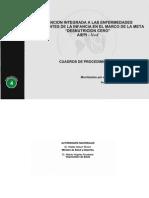 """Atención integrada a las enfermedades prevalentes de la infancia en el marco de la meta """"Desnutrición Cero"""""""