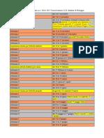 Calendario Accademico Incontri 2016-17 Bologna