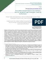 A Geração de Resíduos Sólidos Aeroportuários e Suas Interfaces Com o Turismo. o Caso Do Aeroporto Hugo Cantergiani, Caxias Do Sul-RS, Brasil
