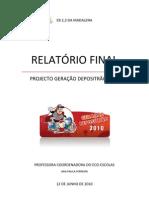 Relatorio Ger Depositrao EB23Madalena