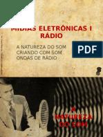 Criação para Mídia Eletrônica -Rádio