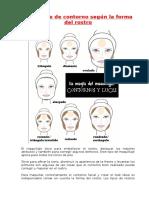 Como Aplicar Tu Maquillaje de Contorno Según La Forma Del Rostro!