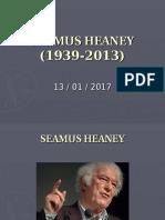 7) Irish Heaney