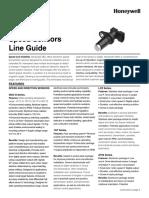 Honeywell Sensing Speed Sensors Line Guide 005893 4 En