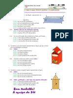 Posicao de Rectas e Planos Criterios de Paralelismo e Perpendicularidade