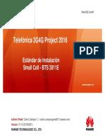 Estandar de Instalacion - TdP Small Cell v1.0 2016