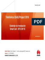 Estandar de Instalacion - TdP Small Cell v1.0 2016