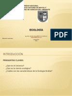 Clase 1 Ecología-2011-II