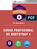 Temario Curso Bootstrap 4