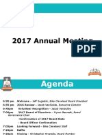 Bike Cleveland 2017 Annual Meeting Presentation