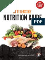 Kettlercise Nutritonal Guide