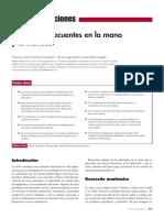 Patologias Frecuentes en Mano y Muñeca