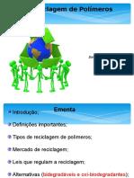 Reciclagem de Polímeros
