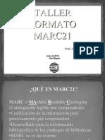 El Formato Marc21 Teoria 2013