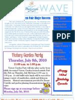 Waterside Wave - July News MASTER 2010