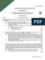 Dip HIV Man(SA) Past Papers - 2015 2nd Semester 24-1-2017