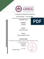 Formato Para La Elaboración de La Propuesta de Investigacion Nivel Licenciatura